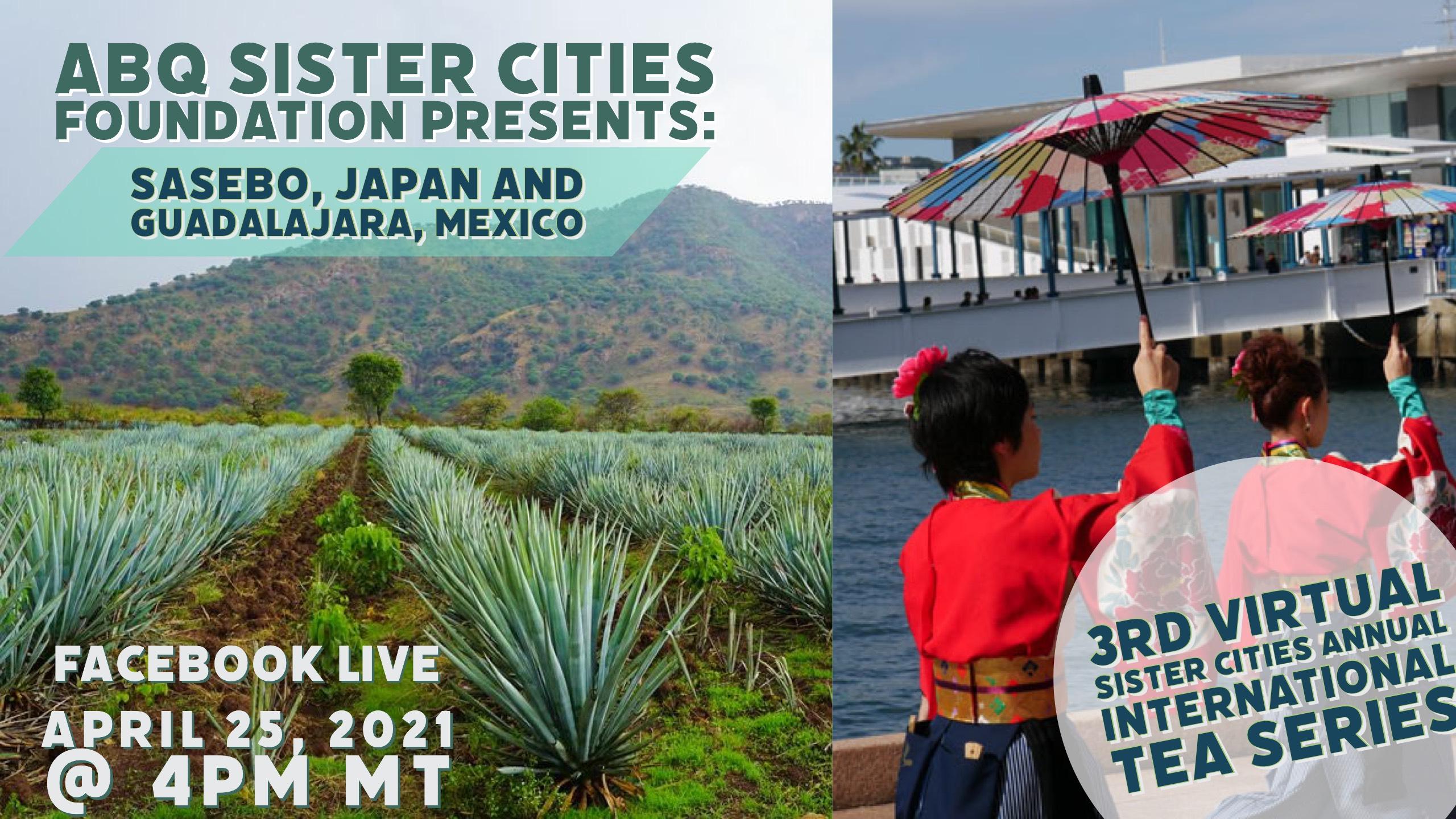 3rd Virtual Sister Cities Annual International Tea